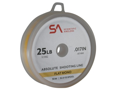 Scientific Anglers Absolute Shooting Line Flat Mono 30m