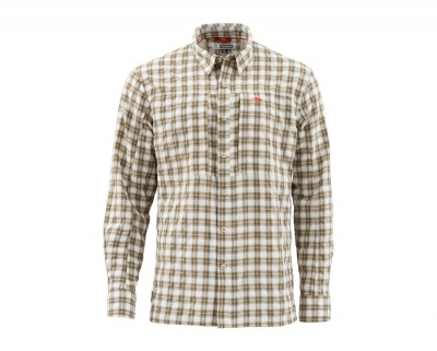 Simms Bugstopper Shirt - Cork Plaid