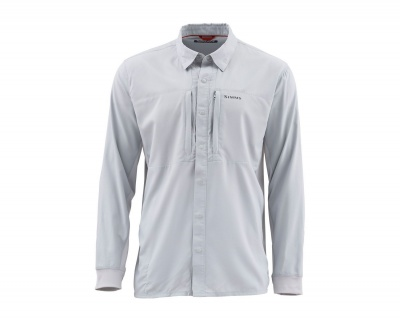 Simms Intruder Bicomp Shirt - Sterling