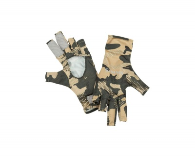 Simms Bugstopper Sunglove - Hex Flo Camo Timber