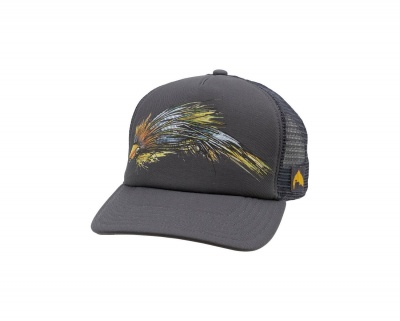 Simms Artist Series Fly Trucker - Anvil