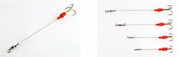 Allcock Minnow Mount - 3 Pack