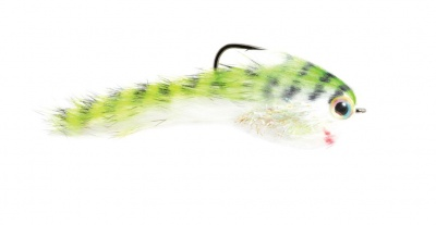 Fulling Mill Belly Scratcher Minnow Chartreuse & Black