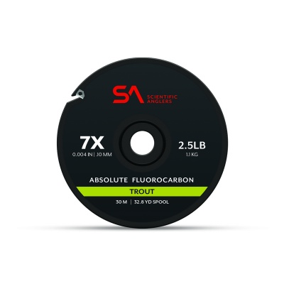 Scientific Anglers Absolute Fluorocarbon Trout Tippet - Clear