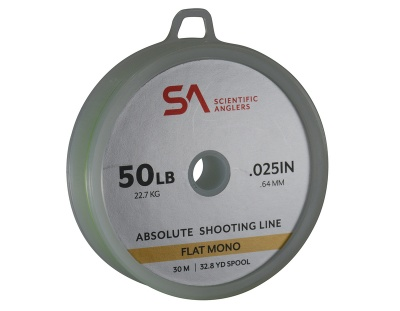 Scientific Anglers Absolute Shooting Line - Optic Green - 50lb Optic Green
