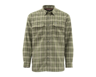 Simms ColdWeather Shirt - Covert Plaid