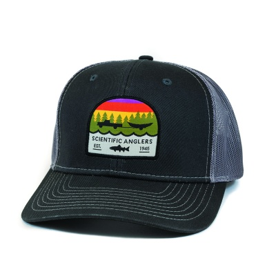Scientific Anglers Hat Trout Patch Dark Grey - Dark Gray