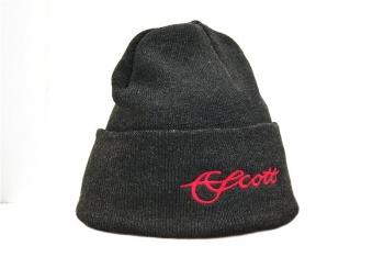 Scott Knit with Red Scott Logo