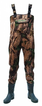 Allcock Camo Neoprene Chest Wader