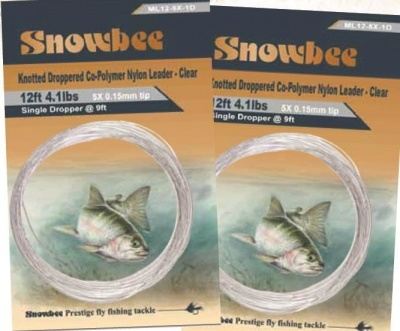 Snowbee Monofilament Knotted Leader