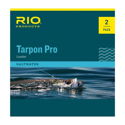 RIO Tarpon Pro Leader Twin Pack Fluoro Shock