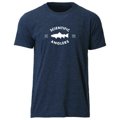 Scientific Anglers T-shirt Trout - Navy
