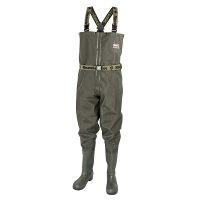 Snowbee Granite PVC Chest Wader - Cleated Sole