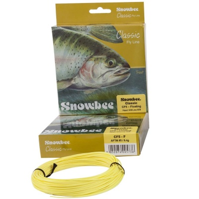 Snowbee Classic Trout Line - Floating Pale Yellow