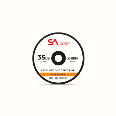 Scientific Anglers Absolute Shooting Line Flat Mono 600m