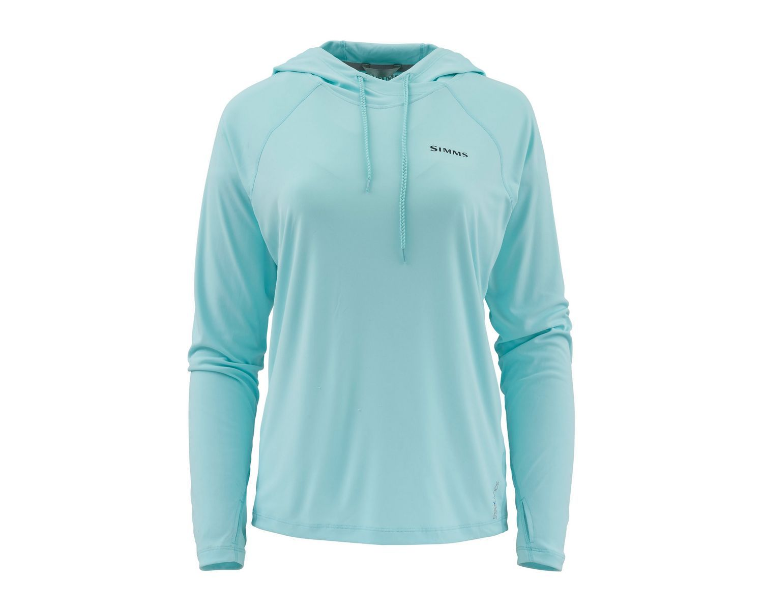 Simms Womens SolarFlex Hoody - Sea Breeze