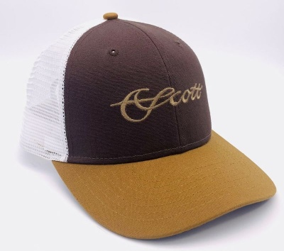 Scott Tri-Color Mesh Hat