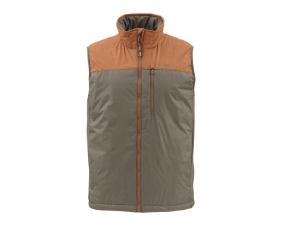Simms Midstream Insulated Vest - Saddle Brown
