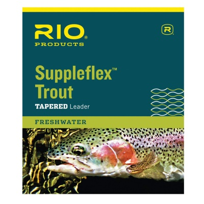 RIO Suppleflex Leaders 9'