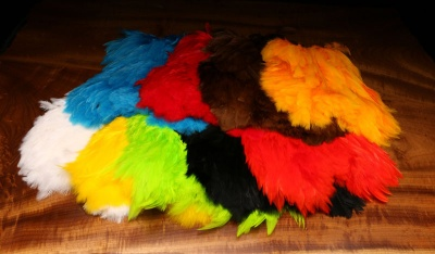 Hareline Soft Hackle Marabou Patch