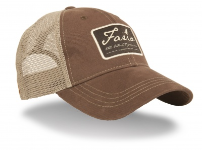 Guideline Fario Cap - Dark Brown/Khaki Mesh