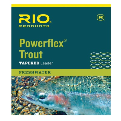 RIO Powerflex Leaders 9' Triple Pack