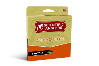 Scientific Anglers Shooting Line Textured .035'' 25# 120 ft Floating - Orange/Gray