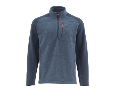 Simms Rivershed Sweater-Quarter Zip