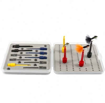Snowbee 10Pce Fly Tying Display Set
