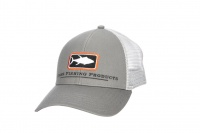 Simms Trucker Hat - Steel