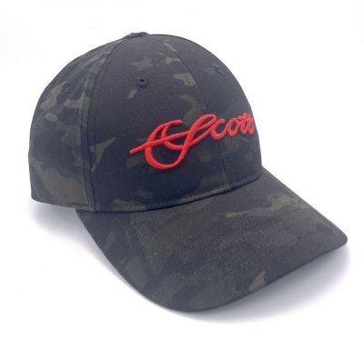 Scott Black Camo Hat