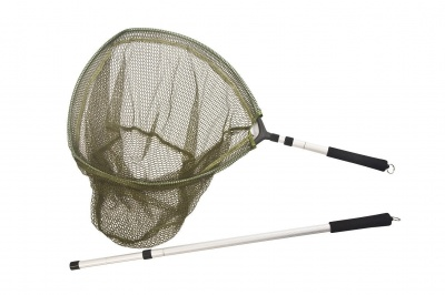 Snowbee 3 In 1 Hand Trout Net - Rubber Mesh