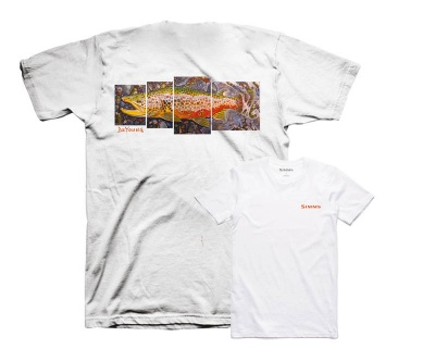 Simms DeYoung Brown Trout Tee