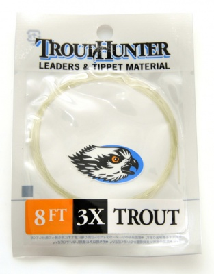 TroutHunter Nylon Leader 8ft