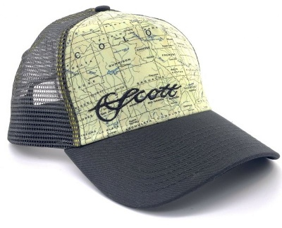 Scott Colorado Map Mesh Hat